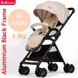 Recent A8 5 9Kg Stroller Pram Khaki Brown