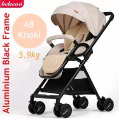 Price A8 5 9Kg Stroller Pram Khaki Brown Singapore