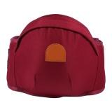 Sale Adjustable Infant Toddler Carrier Walkers Waist Belt Hold Hip Seat 2 Burgundy Intl Online China