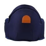 Cheap Adjustable Infant Toddler Carrier Walkers Waist Belt Hold Hip Seat 3 Dark Blue Intl
