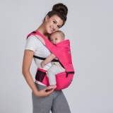 Store Aiebao Baby Hipseat Breathable Infant Kangaroo Baby Bag Ergonomic Baby Carrier 360 Portable Cotton Hip Seat Black Intl Oem On China