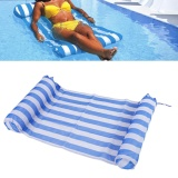 Price Air Matress Swimming Pool Beach Inflatable Cushion Comfortable Bed Blue White Intl Oem China