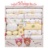 Get Cheap All Seasons High Quality Pure Cotton Baby Clothes Gift Set 12 Months Baby Clothing Gift Box 18Pcs Package Intl
