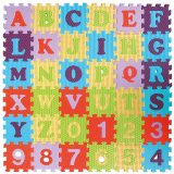 Sale Alphabets And Numbers Puzzle Mat With 6 Textures Silkscreen Printing Farlin