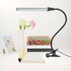 Sales Price Aluminum Usb Table Desk Clip Lamp Flexible Reading Light Bedside For Office Home Intl