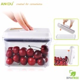 Ankou Airtight Milk Food Storage Container 1 Touch Button Molded Lid Silicone Seal Leakproof 1000Ml For Sale Online