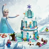 Coupon Anna Elsa Snow Queen Elsa S Sparkling Ice Castle Building Toys Blocks Brick Compatible Friends Toys Intl
