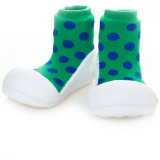 For Sale Attipas Toddler Shoe Polka Dot Green