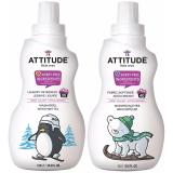 Sales Price Attitude Baby Safe Laundry Detergent 1 05L And Softener 1L Sweet Lullaby Bundle Free Gift Lucas Paw Paw Cream 15Gr