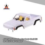 Price Austar 313Mm Wheelbase Hard Plastic Pickup Truck Car Body Shell Kit For Axial Scx10 Rc4Wd D90 1 10 Rc Crawler Intl China
