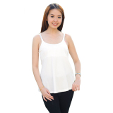 Compare Autumnz Adele Padded Maternity Nursing Tank White Prices