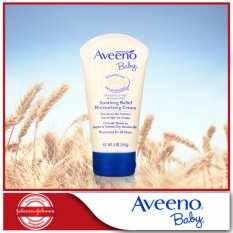 Get Cheap Aveeno Baby Moisturizing Cream Soothing Relief 141G