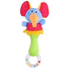 Baby Bed Rattle Animal Handbell Musical Developmental Toy By Welcomehome.
