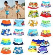 Baby Boy Swimwear Cartoon Pattern Surfing Swim Trunks For Kids Colors 23.5cm - Intl By Toplans Watch Store.