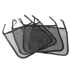 Baby Carriage Baby Trolley Net Bag Seat Pocket Stroller Accessories(black)-4pcs - Intl By Welcomehome.