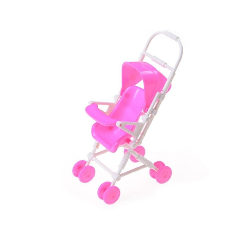 Mecola Baby Carriage Stroller Trolley Doll Furniture For Barbie Dolls Accessories - intl Singapore