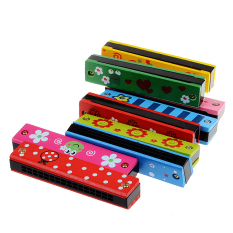Baby Children Wood And Plastic Harmonica Musicl Educational Toy Gif Multi By Crystalawaking.