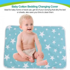 Baby Cotton Urine Mat Diaper Nappy Bedding Changing Cover Pad - Intl By Beautytop.