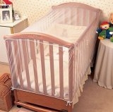 Coupon Baby Crib Cot Insect Mosquitoes Wasps Flies Net For Infant Bed Folding Crib Net Intl