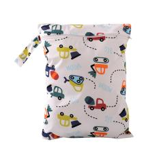Baby Diaper Bags Character Print Changing Wet Bag Baby Cloth Diapers - Intl By Welcomehome.