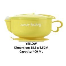 Baby Feeding Bowl/ Suction Bowl/ Warmer/ Baby Food/ Utensil/ Toddler/ Kid/ Cutlery By Teem Shop.
