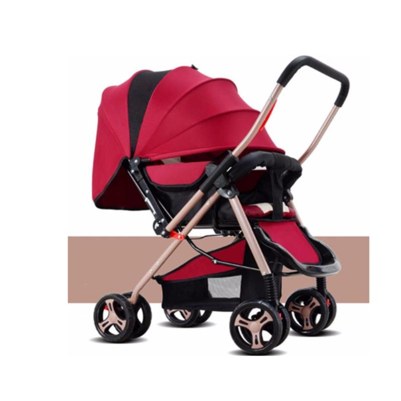 JIJI (Free Installation) Baby Foldable Modern Stroller (Prams/Strollers) Foldable Adjustable Design Portable Baby Carriage Stroller (Free Delivery) (SG) Singapore