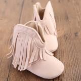 Buy Baby G*rl Baby Moccasins Soft Moccs Shoes Bebe Fringe Soft Soled Non Slip Footwear Crib Shoes New Suede Leather Newborn Intl Oem Online