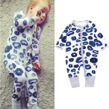 Cheaper Baby Lily Baby Boys Girls Casual Design One Pieces Bodysuits Intl