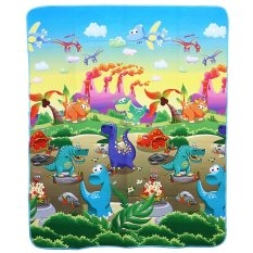 Baby Play Mat Floor Rug Soft Carpet Dinosaurs Paradise Foam Crawling Toy Export Intl On Singapore