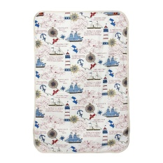 Baby Portable Foldable Washable Nappy Diaper Changing Mat Compact - Intl By Coconie.