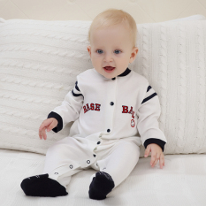 Buy Baby Siamese Clothes Spring 6 Foot 2 Baby Romper Spring And Summer Men Newborn Children Out Clothes 3 A Month 1 Years Old China