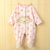 Baby Siamese Clothes Summer 6 Foot 2 Baby Romper Spring And Summer Pajamas Men Newborn Children 3 A Month 1 Year Old On Line