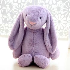 Mimosifolia Baby Soft Plush Big Ear Rabbit To Appease The Doll Kids Birthday Present Plush Stuffed Animal Toys Lumbar Cushion Pillow Purple 38Cm Intl Mimosifolia Discount