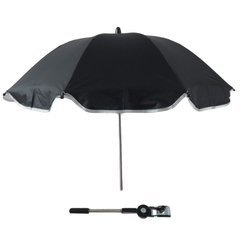 Baby Stroller Carriages UV Protection Umbrella Sunshade 360 Degrees Adjustable Direction Stroller Accessories for Most Baby Stroller Black - intl Singapore