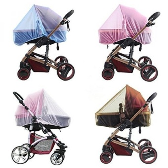 Baby Stroller Mosquito Net Insect Netting For Pram Buggy Infant Carriers Car Seats Cradles Cribs Bassinets Playpens Portable Durable Strollers