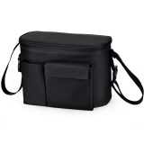 Discount Baby Stroller Organizer Mummy Diaper Storager Thermal Insulation Nappy Bag Black Oem On Hong Kong Sar China