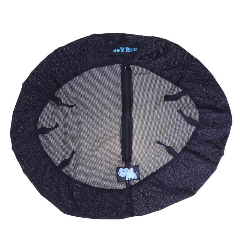 Baby Stroller Pram Pushchair Mosquito Sun Wind Shield Dustproof Cover(Black) - intl Singapore