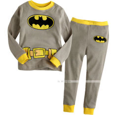 Buy Baby Toddler Boy Kid Batman Clothes Sleepwear Pajama Pjs 2 Pcs Set 1 7 Years Oem Cheap