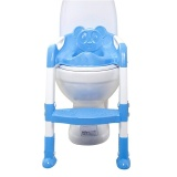 Discount Baby Toddler Potty Training Toilet Chair Seat Step Ladder Blue Intl China