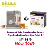 Buy Babycook Solo Scandinavian Grey Cheap Singapore