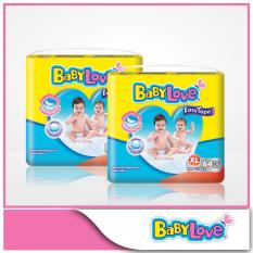 Buy Babylove Easy Tape Mega Pack Xl 64Pcs X 2 Packs