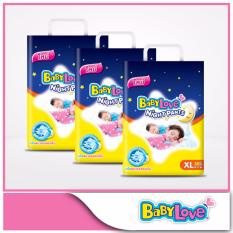 Sale Babylove Night Pants Jumbo Pack Xl 38Pcs X 3 Packs Baby Love Original