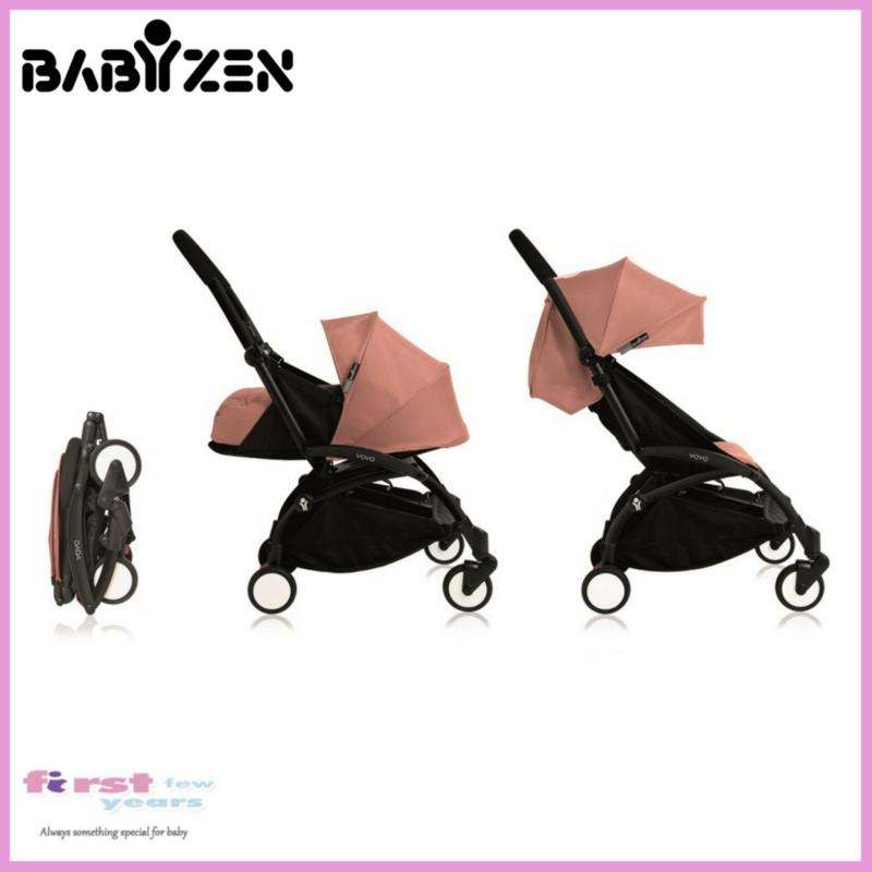 Babyzen Yoyo+ 0+ and 6+ Stroller (Black Frame) Singapore