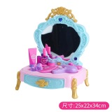 Bain Shi Children S Fantasy Dressing Table Makeup Table Toys Hair Machine Coupon