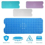 Where To Shop For Bathtub And Shower Mat Extra Long Non Slip Anti Bacterial Large For Bath Shower Intl