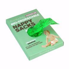 Beaming Baby Bio-Degradable Nappy Sacks Fragrance Free (60 Sacks) By Green Pal Store Singapore.