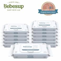 Best Rated Bebesup Sensitive Baby Wipes Cap Slim 12 X 30S Designed For Delicate Baby Skin
