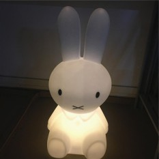 Bed Adjustable Night Lights Kids Bedroom Miffy Rabbit Brown Bear Pig Cute Intl
