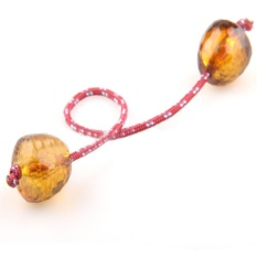 Begleri Fidget Toy Finger Skill Toys Worry Beads Paracord Beads Gift Plastic - Intl By Freebang.