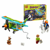 Latest Bela Scooby Doo Mystery Plane Adventure Minifigures Building Dog Blocks Toy Kid Gift Birthday Intl